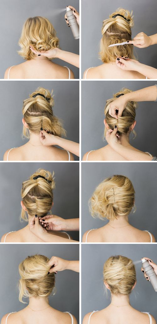 Comment faire chignon hotesse air