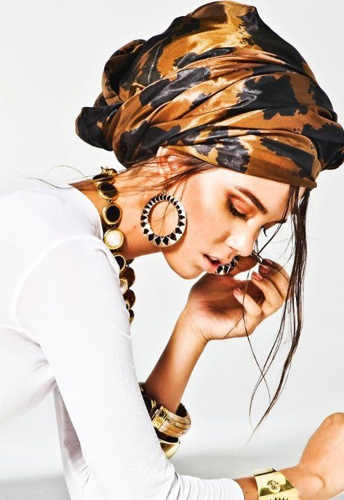 comment porter turban touareg