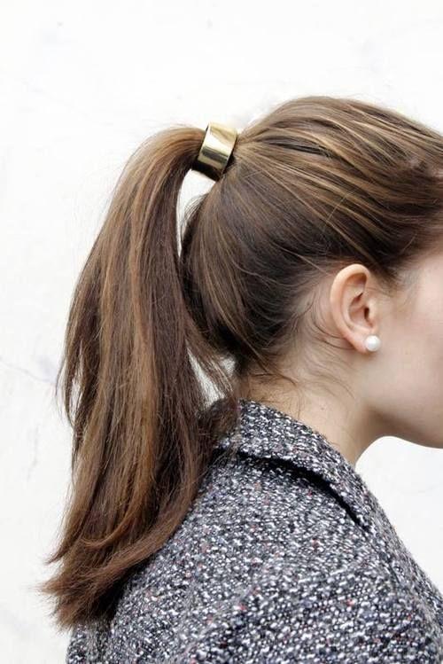 Accessoires cheveux queue de cheval