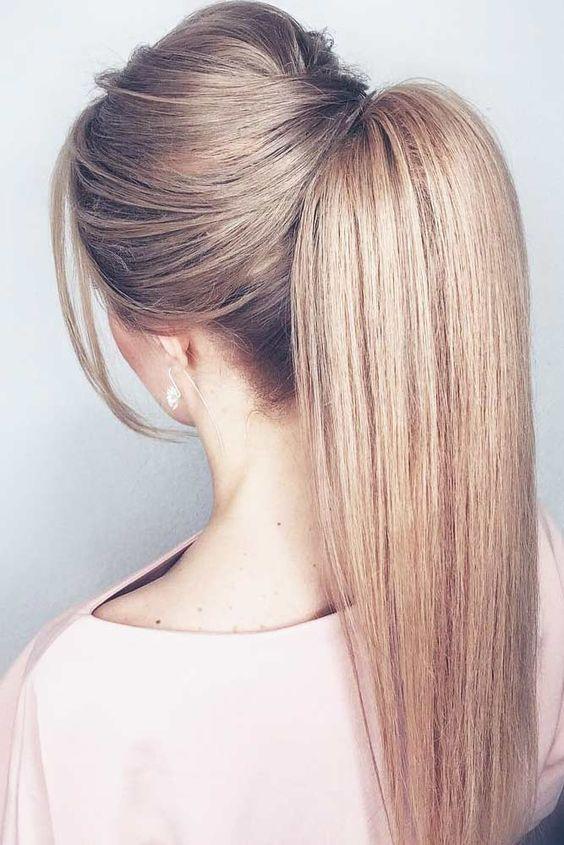 Comment faire coiffure queue de cheval ?
