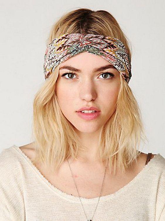Femmes Mode Large Tissu Bandeau cheveux bande Coiffure Cheveux Pour Cheveux Accessoires