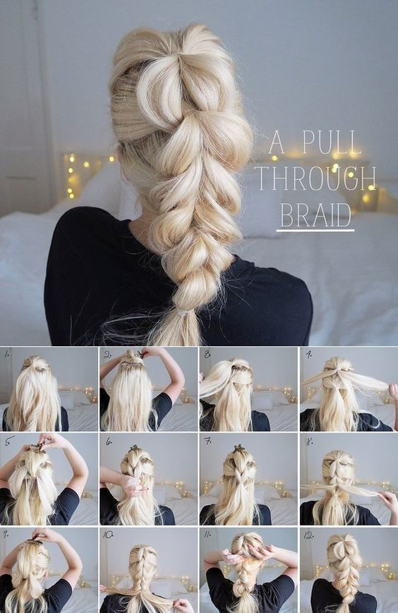 Coiffure mariee cheveux long tresse